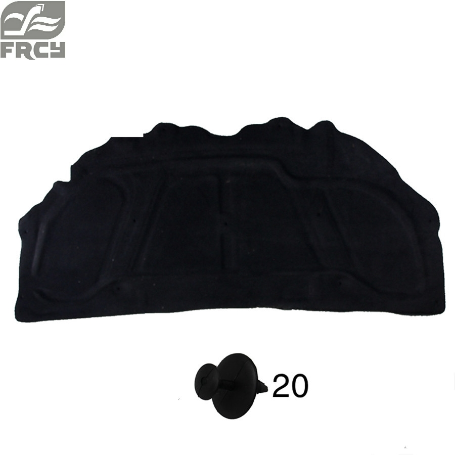 engine boot cover insulation cotton insulation cotton for Peugeot 307 308 408 207 206 301 for peugeot 206 207 307 308 301 406 407 3008 new brand luxury soft pu leather car seat cover front