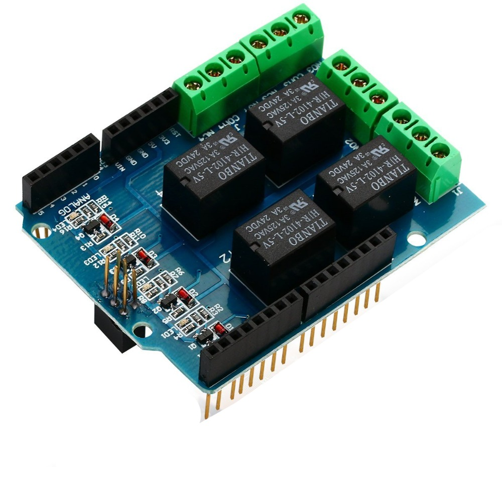 Relay Shield for Arduino Open Electronics