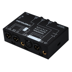 Lynepauaio Audio Mixer 3 Channel Stereo Micro-phone Mixer With Headphone Monitor Volume Adjustment Dc12V Power Xlr Balance Sig