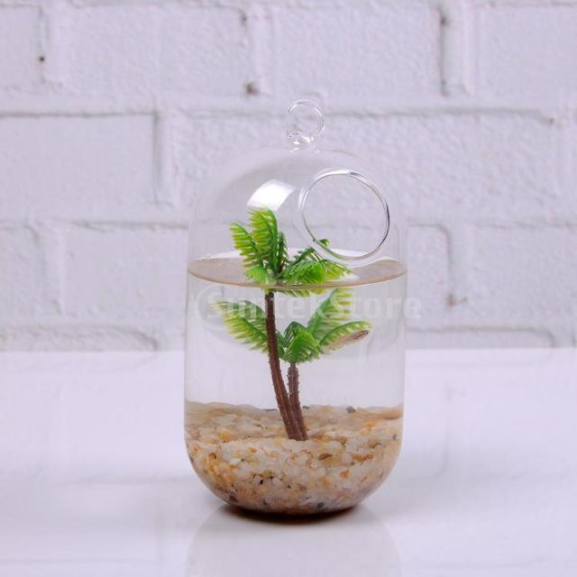 Clear Glass Flower Planter Vase Terrarium Container In Vases From