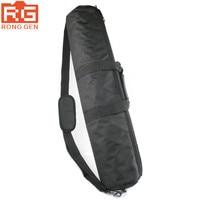 Zwart 100 cm 80 cm 75 cm 70 cm 65 cm 60 cm 55 cm Gevoerde Band Camera statief Draagtas Travel Case Voor Manfrotto Gitzo Velbon Statief tas