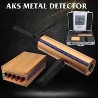 AKS металлодетекторы детектор портативный точное позиционирование обнаружения системы металлический искатель для серебряной меди золота и