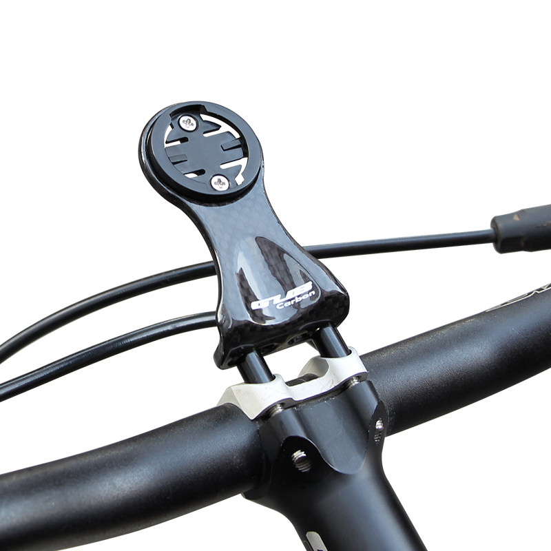 Carbon Fiber Bike Bicycle Cycling Stopwatch Holder Support Stand Computer Mount Set full carbon fiber bicycle bike code table holder frame bicycle handlebar mount frame computer holder for red