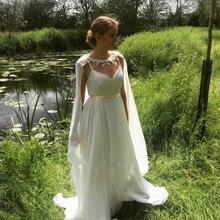 Свадебные аксессуары накидки женская шифоновая шаль 200 см