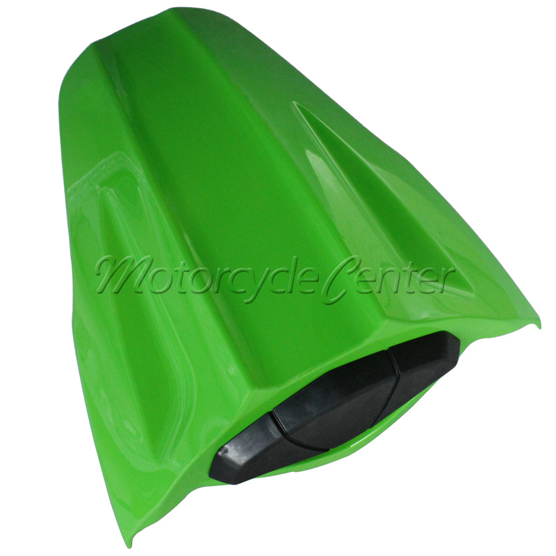Hot Sale ABS Plastic Motorcycle Rear Seat Cover Cowl For Kawasaki Ninja ZX10R ZX 10R 2011-2013 Green hot sale hot sale car seat belts certificate of design patent seat belt for pregnant women care belly belt drive maternity saf