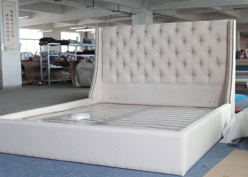 Dubai soft fabric antique bed furniture with modern design for loyal ...