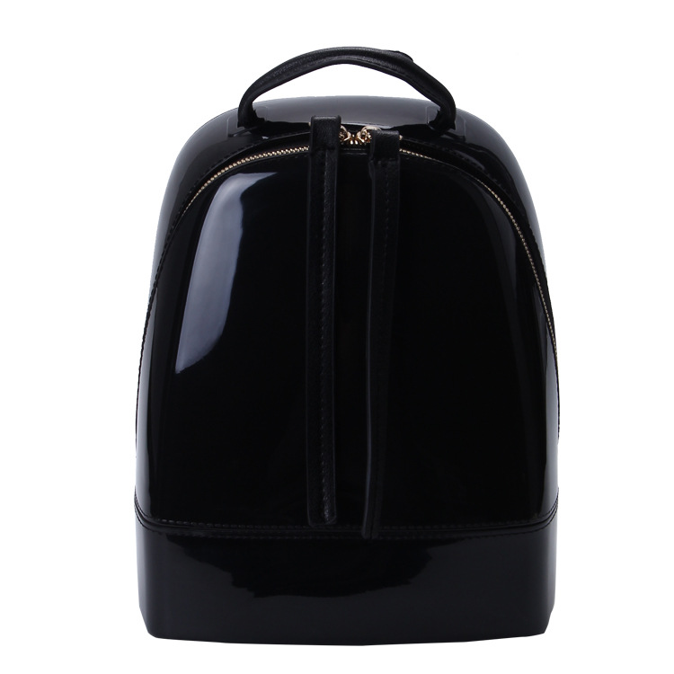 Candy Color Summer Jelly Backpacks Waterproof PVC School Bags Plastic Silicone Women Sho ...