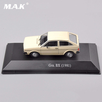 1 43 Scale Diecast Volkswagen Gol BX 1981 Car Vehicle Model Collections Car Kids Toys Brinquedos