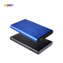GZGMET 5GBPS  2.5 hdd enclosure usb 3.0 aluminum stata hard disk case Drive External Case for 5/7/9.5mm drive SSD HDD
