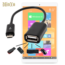 Micro USB 2.0 Host OTG Cable Adapter for Teclast X80 Plus /X98 Plus /X98 Air III /X16 Pro /X1 X2 Pro /P80h X80HD OTG Converter