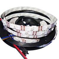 5 m 150 LEDs (30 leds/m) DC5V APA102-C laddressable ed piksel srip  IP33; BEYAZ PCB  tel; VERI ve CLOCK ayrı