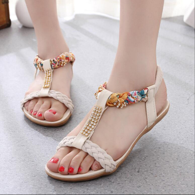 2017 Bohemia Summer Sandals Fashion Flat