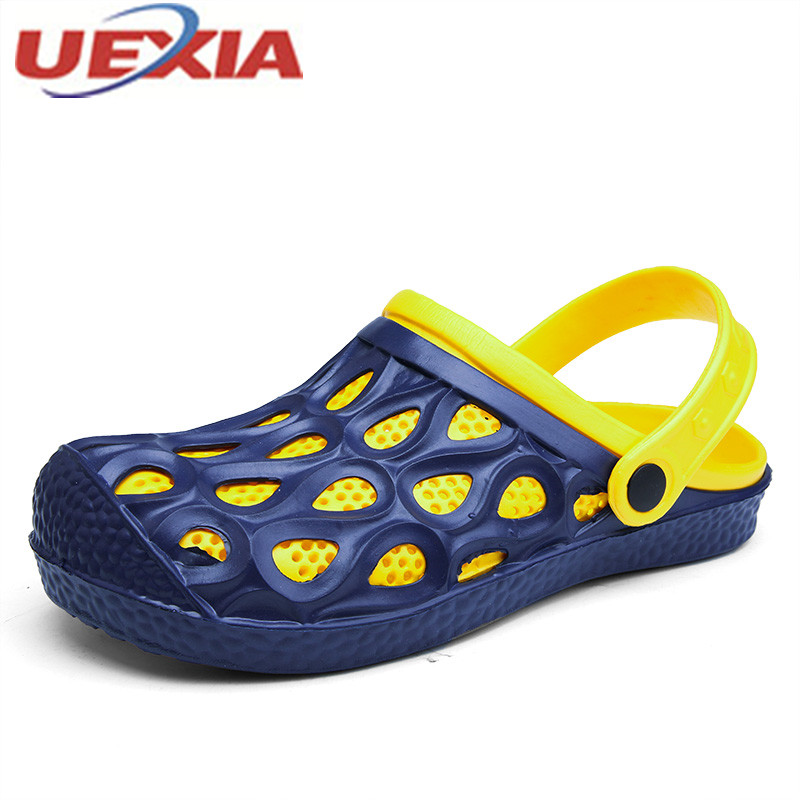 Summer Men Casual Shoes Outdoor Walking Shoes Slip-On Beach Sandals Man Breathable Slippers For Men Zapatos De Hombre Sandalias