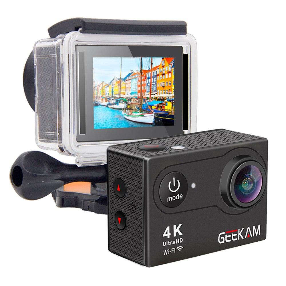 """GEEKAM S9R/S9 Action Camera Ultra HD 4K/10fps WiFi 2.0"""" Underwater Waterproof Helmet Video Recording Cameras Sport Cam-2"""