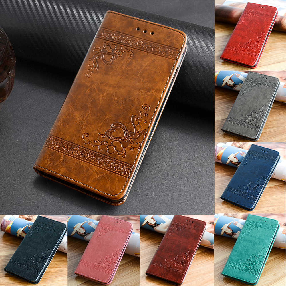 Leather Case for Samsung Galaxy J5 J7 A3 A5 A7 2016 2017 S8 S9 Plus for Huawei P10 P9 Lite Flip Cover for iPhone X 6 6s 7 8 Plus