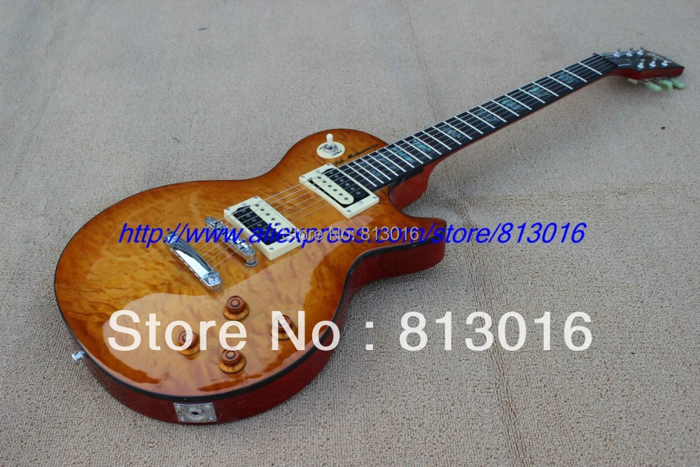 2013 new guitar LP Custom Shop Tak Matsumoto  Burst with zebra pickups ,Ebony fingerboard  Electric Guitar !Free shipping !! new brand custom shop 1960 bourbon burst lp guitar deluxe completed musical instruments chinese electric guitar free shipping