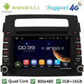 Quad Core 2DIN Android 5.1.1 Car Multimedia DVD Player Radio Stereo PC USB FM BT DAB+ 3G/4G WIFI GPS Map For Kia SOUL 2011 2012