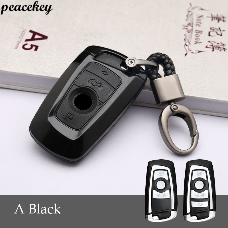 Carbon Fiber Silicone Key Case Cover For Bmw G30 F30 F10 F11 F20 F31 X3 X1 X5 X3 X6 1 2 3 5 Accessories For BMW Key Cover in Key Case for Car from Automobiles Motorcycles