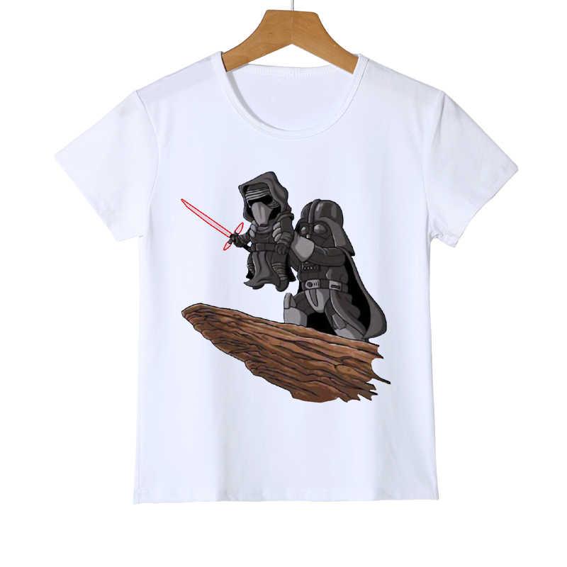 Verão Dos Desenhos Animados Da Novidade T Camisa Legal Engraçado Star Wars Rei Leão Impresso Crianças T-Shirt Das Meninas Dos Meninos Babys Hipster T Topos z34-11