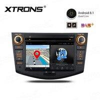 7 Android 8,1 автомобиль DVD мультимедийный плеер gps навигации RCA радио USB для Toyota RAV4 2006 2007 2008 2009 2010 2011 2012