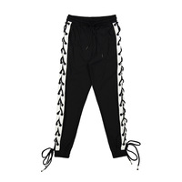 H A Sueno Urban Clothing Men Casual Sweatpants With Ties Hip Hop High Street Trousers Pants