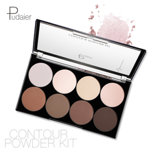 Brand Pudaier 8-color Matte Makeup Setting Powder Three-dimensional Shadow Decoration Concealer Repairing Contour Palette