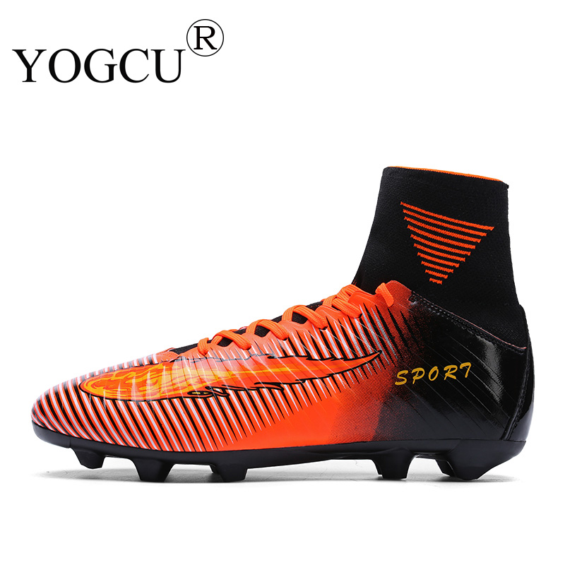 124495c6dcd Men Superfly Football Boots Original FG High Ankle Soccer Shoes Superstar Professional  Outdoor Training Cleats Calzado Futbol