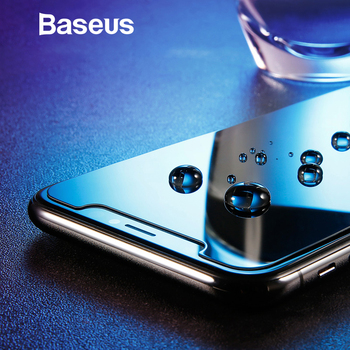Baseus 0.3mm Anti Spy Tempered Glass For iPhone X Screen Protector Ultra Thin Protective Glass For iPhone X Anti Glare Glass