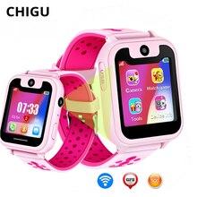 Chigu Smart Watch Tracker Kids Waterproof Watch with Camera SIM Card SOS Call Location Device Relogio Smartwatch Android chigu белый цвет