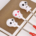 Fluorescence Halloween Pumpkin Skull Stick LED Flash Glow Light Party Decoration Easter Halloween Party Prop Supplies LED Stick