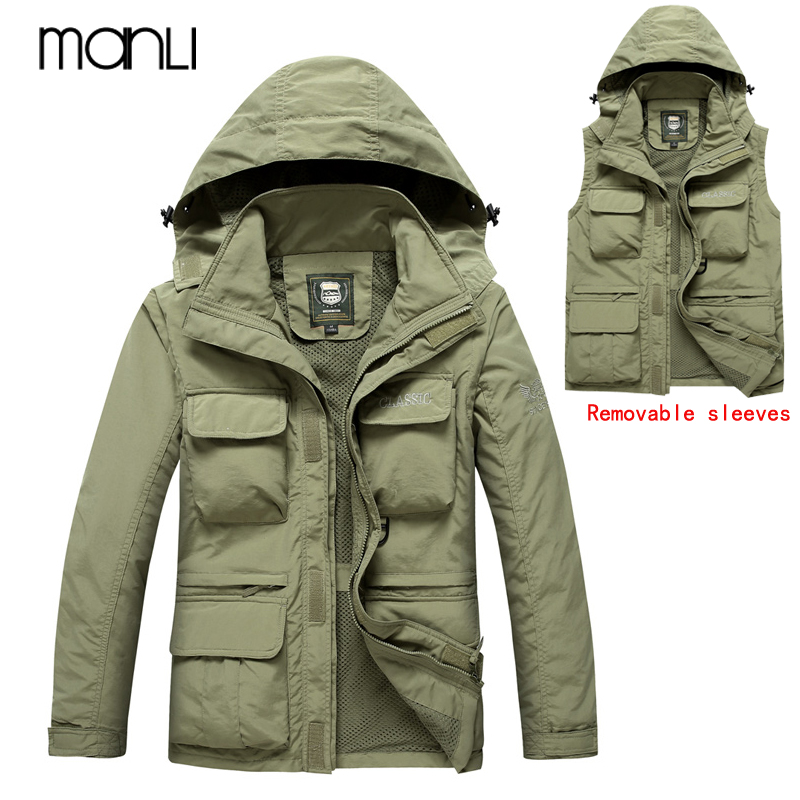 MANLI Outdoor Sports Men Upgraded Lurker Shark Army Camouflage Men Coat Vest Military Tactical Jackets Waterproof Windbreaker lurker shark skin soft shell v4 military tactical jacket men waterproof windproof warm coat camouflage hooded camo army clothing
