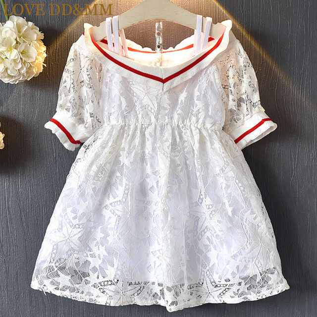 b096db74ee47 LOVE DD MM Girls Dresses 2018 Summer New Children s Wear Girls ...