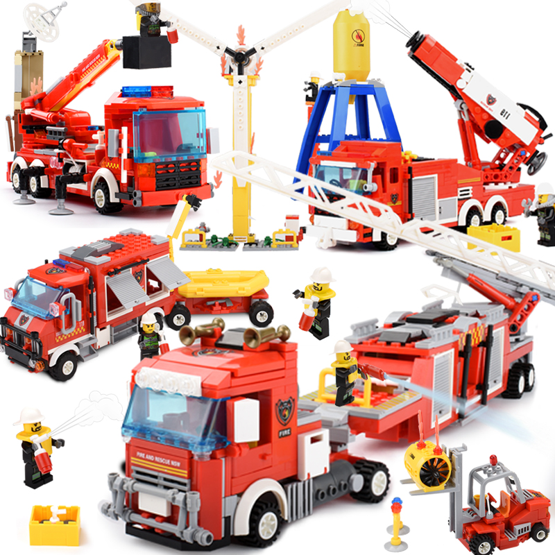 Action & Toy Figures Search For Flights Flash Fire Truck Model 3d Nightlight Visual Illusion Led 7 Colors Changing Flash Light Fireman Fire Engine Car Figure Toys Outstanding Features