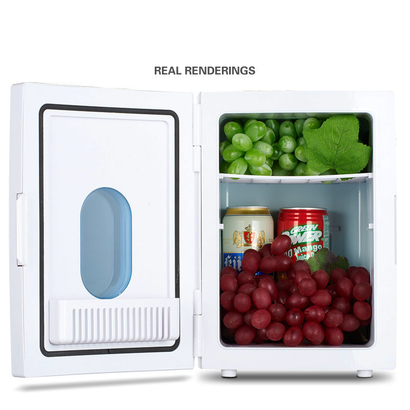 JZ179 Limited 10l Small Refrigerator Cooling heating Function Cheap Portable Office Fridge Freezers Sale Compact -2~60 Degree