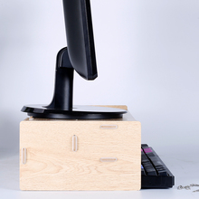 Wooden Office Desk Organizer