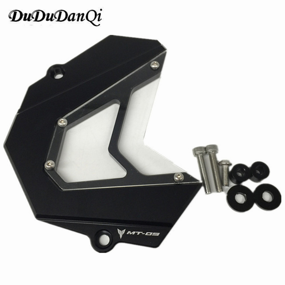 MT09 FZ-09 Front Chain Sprocket Cover For Yamaha MT-09 FZ 09 2013 2014 2015 2016 MT 09 Tracer Accessories
