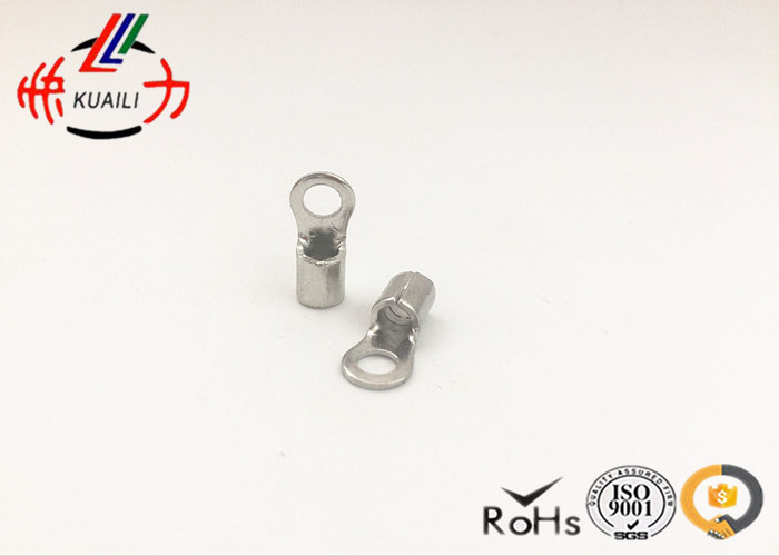 500PCS NON-INSULATED RING TERMINALS RNB 8-12 rnb8 10 ring type non insulated spade cable terminals 500pcs for awg 8
