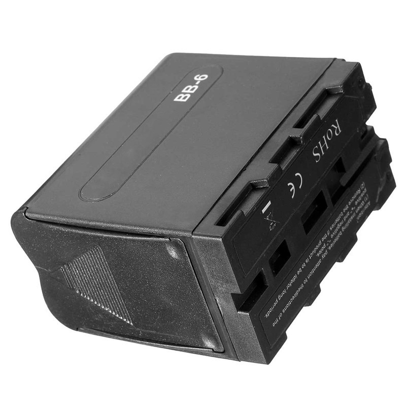 New <font><b>Battery</b></font> Case Pack Six AA <font><b>Batteries</b></font> Can Be Put In Power as NP-F970 For LED Video Light Panels For Monitor YN300 II DV-160V