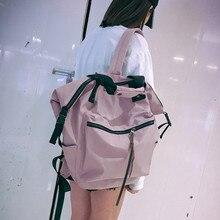 Корейский ulzzang рюкзак модная одежда для девочек Высокая Ёмкость рюкзак джокер элегантный дизайн studeng школьная сумка для отдыха простые нейлоновый рюкзак