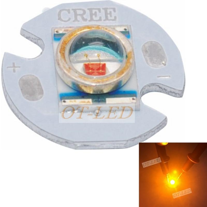все цены на 10pcs 3W Amber Orange Yellow LED CREE XR-E Q5 Chip emitter High Power LED Diode CREE Emitterbeads DIY Car Light Fishing lights