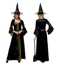 Disfraces de Halloween para las mujeres Sexy Bruja Vampiro Gótico Del Traje Sexy Fiesta de Disfraces Vestido de Cosplay