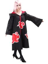 Бесплатная доставка наруто акацуки косплей костюм