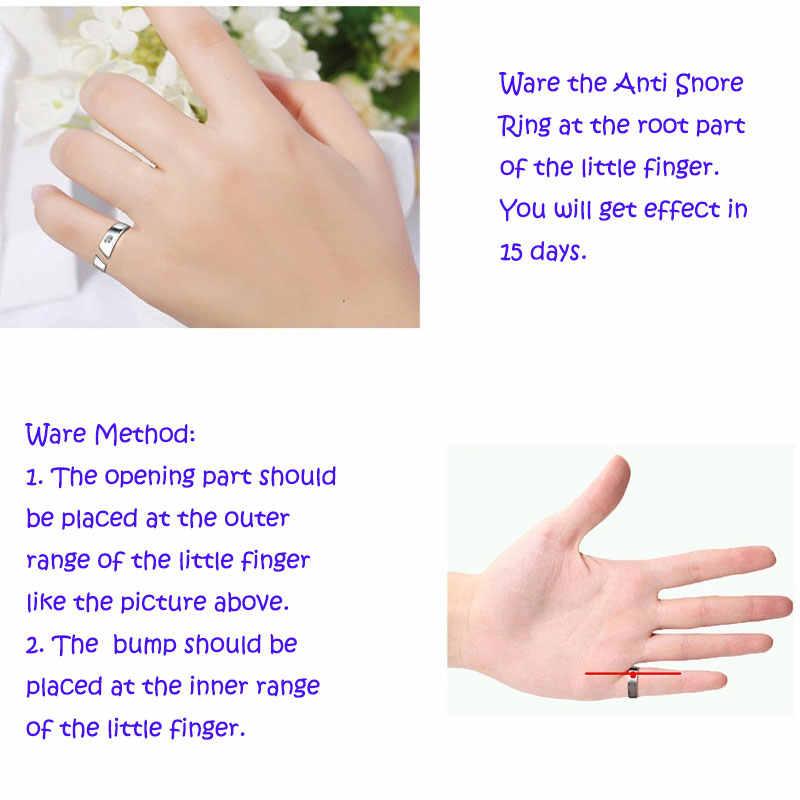 4 גדלים אנטי לנחור טבעת טיפול מגנטי אקופרסורה טיפול נגד נחירות מכשיר פקק אצבע טבעת שינה סיוע