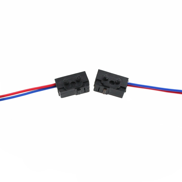 HETW 2PCS (Left and Right ) Door light top a drive link car door lock micro switch FOR VW PASST B5 BORA POLO GOLF 4 MK4 Polo