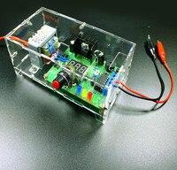Ev Aletleri'ten Klima Parçaları'de LM317 ayarlanabilir voltaj stabilize güç kaynağı kurulu kiti DC güç eğitim kiti elektronik DIY üretim