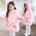 2017 new winter explosion girls tide Korean Cute Princess thick Cotton Hooded Coat