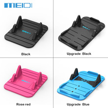 New  Car Holder Soft Silicone Desktop Car Dashboard GPS Anti Slip Mat Mobile Phone Stand Bracket for iPhone 5s 6MEIDI4004/4010