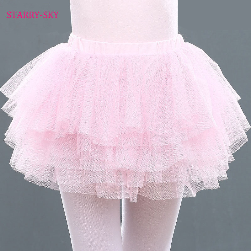 Cute Girls Ballet Tutu Dress For Child Dancewear Professional Ballet Tutus Dancing Costumes Ballet Skirts Girl Dance Dress