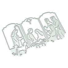 Jesus Metal Cutting Dies New 2018 Craft Stamps Die Cut Embossing Card Making Stencil Frame