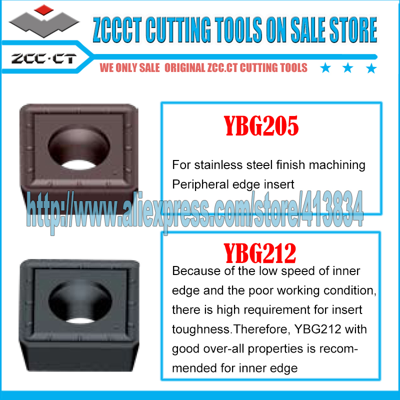 Free Shipping ZCCCT cutting tool tablet SPGT110408-PM YBG205 YBG212 metal cutter 1 pack free shipping zccct cutting tools cnc turning tool inserts and tool holder 1 pack